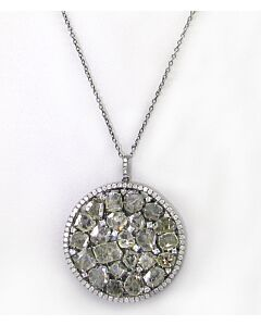 Estate Collection Diamond Slice Pendant
