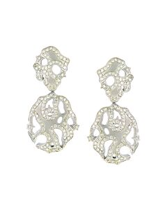 Raymond Hak Lacy Diamond Earrings