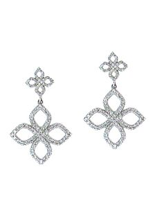 Diamond Flower Earrings from Bez Ambar