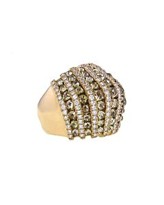 White and Cognac Diamond Ring from DiGo