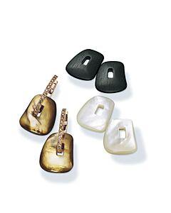 Cognac Diamond Interchangeable Earrings
