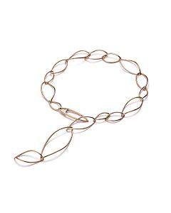 Mattioli Rose Gold Adjustable Necklace