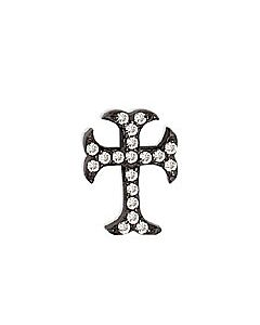 FOURKEEPS White Topaz Blooming Cross