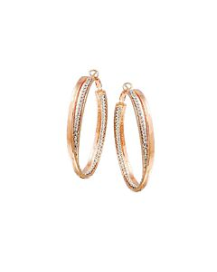 Adami & Martucci St Silver & Mesh Earrings