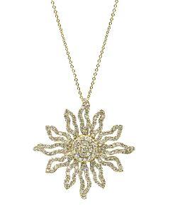 Diamond Solstice Pendant