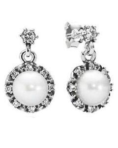 Sterling silver Everlasting Grace Earrings