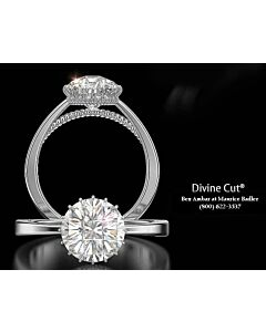 Divine Cut Diamond Silhouette Ring