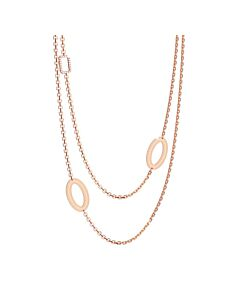 Rebecca Layered Bronze Necklace
