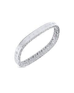 White Gold  Princess Collection Diamond Bracelet