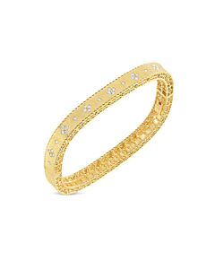 Yellow Gold Princess Collection Diamond Bracelet