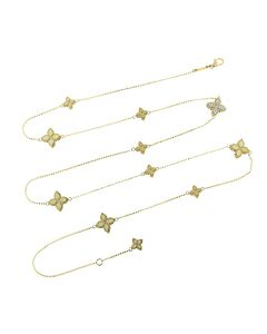 """34"""" Princess Flower Collection Necklace"""