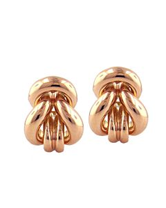 Estate Collection 14k Rose Gold Earrings