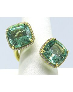 One-of-a-Kind Diamond & Emerald Ring