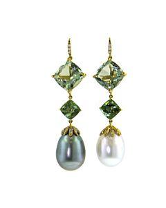 Cultured Tahitian & South Sea Pearl Earrings