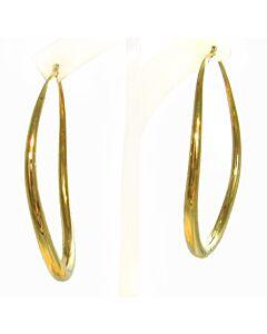 Bold Classic Oro Hoop Earrings