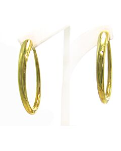 Classic Oro Oval Hoop Earrings