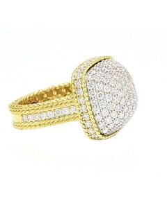 New Barocco Diamond Ring