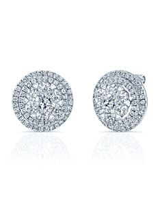 Coronet 4 Carat Diamond Earrings