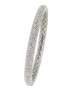 Extraordinarily Fine Diamond Bangle