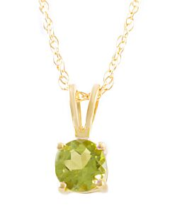 Birthstone Pendants: Peridot for August