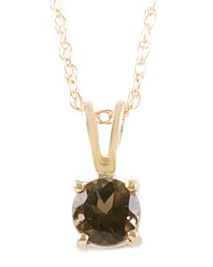 Birthstone Pendants: Smoky Quartz for June