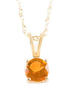 Birthstone Pendants: Citrine for November