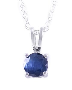 Birthstone pendants: Sapphire for September