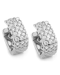 One Carat Diamond Earrings