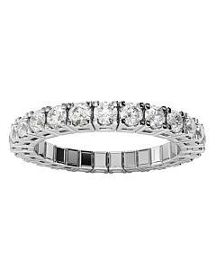 Two Carat  Diamond Expandable Spryng Ring
