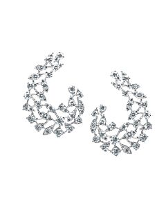 Wraparound Diamond Earrings from Arzano