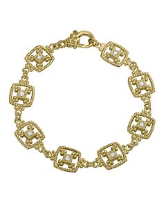 Europhia Double Sided Diamond Bracelet