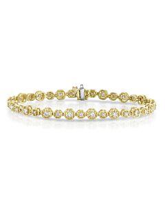 JPM One Carat Diamond Eternity Bracelet