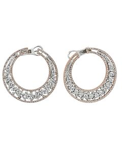 Exquisite 5.82 Carat Diamond Earrings