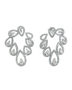 """Pears Within Pears"" Diamond Earrings"