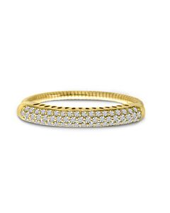 Yellow Gold SPRYNGS  Expandable Diamond Ring