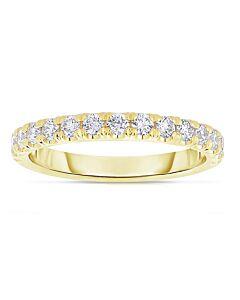 18k Prong Set Diamond Ring