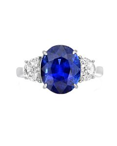 Stunning Sapphire and Diamond Ring