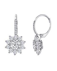 Starburst Diamond Earrings