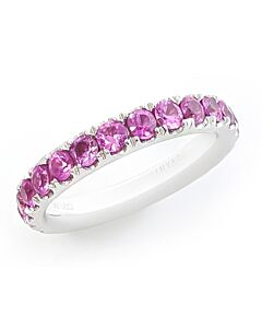 14K Pink Sapphire Ring