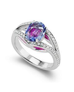 Pellucid Multi Gemstone Ring