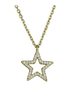 Petite Diamond Star Necklace