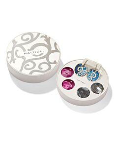 Siriana Earrings with Interchangeable Drops
