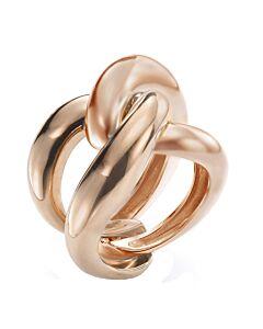 Rose Gold Yin Yang Ring