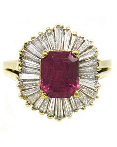 Estate Collection Ballerina Ring