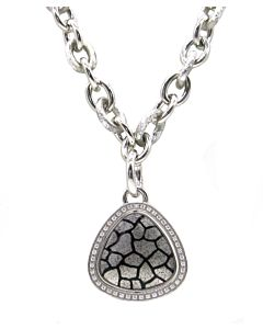 Estate Collection Soho Silver Necklace and Pendant